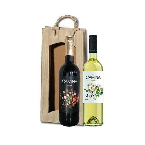 2 fles wijngeschenk camina roble camina verdejo la